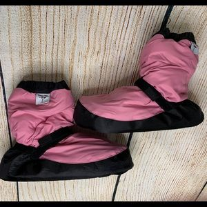 Pink Forte Dance Warmup Boots Various Sizes